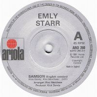 Cover Emly Starr - Samson [English]